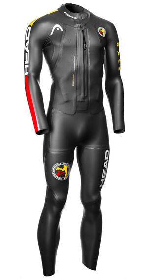 Head ÖTILLÖ Swimrun Race triathlon kleding Heren zwart